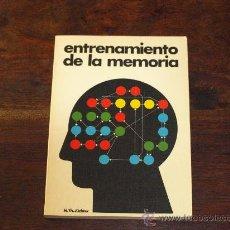 Libros de segunda mano: ENTRENAMIENTO DE LA MEMORIA-H.TH.JÜCHTER-. Lote 26440411