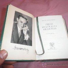 Libros de segunda mano: ENRIQUE JARDIEL PONCELA - OBRAS TEATRALES ESCOGIDAS - AGUILAR EN PIEL.. Lote 24971982