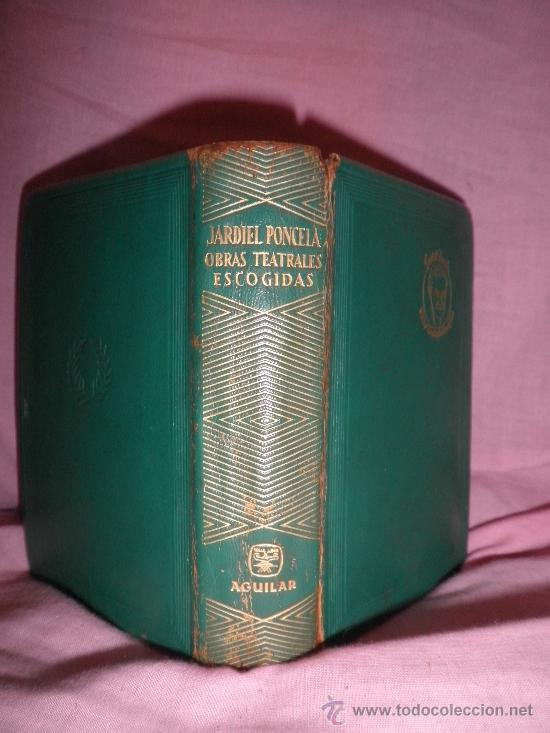 Libros de segunda mano: ENRIQUE JARDIEL PONCELA - OBRAS TEATRALES ESCOGIDAS - AGUILAR EN PIEL. - Foto 2 - 24971982