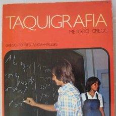 Libros de segunda mano: TAQUIGRAFIA. METODO GREGG. 1976... ENVIO GRATIS¡¡¡. Lote 25002104