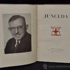 Libros de segunda mano: JUNCEDA. FOMENTO DE LAS ARTES. AÑO 1952. MUY ILUSTRADO. Lote 25207794