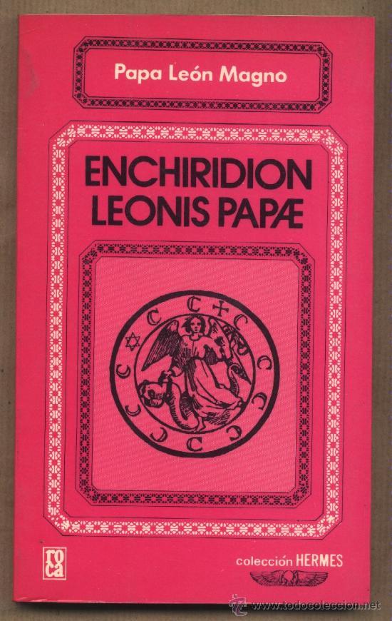 enchiridion leonis papae espaol