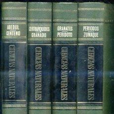 Libros de segunda mano: ENCICLOPEDIA DE CIENCIAS NATURALES BRUGUERA - 4 TOMOS. Lote 26739662