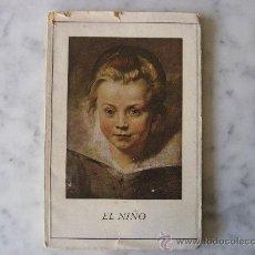 Libros de segunda mano: EL NIÑO,HERDER & CIA.FRIBURGO DE BRISGOVIA,ALEMANIA.CON 25 LAMINAS.. Lote 25280431