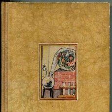 Libros de segunda mano: EL MUNDO EN LA RETORTA : LA QUÍMICA PARA TODOS (LABOR, 1943). Lote 26855486