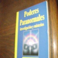 Libros de segunda mano: PODERES PARANORMALES. INVESTIGACION Y MISTERIOS. BIBLIOTECA DE AÑO CERO. MILAN RYZL. .... Lote 25403521