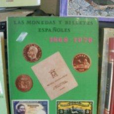 Libros de segunda mano: LAS MONEDAS Y BILLETES ESPAÑOLES AÑO 1977 --REFM3E1. Lote 27678459