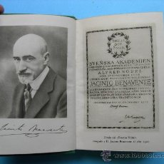 Libros de segunda mano: JACINTO BENAVENTE - OBRAS COMPLETAS - TOMO I- ED AGUILAR . Lote 25532602