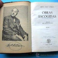 Libros de segunda mano: OBRAS ESCOGIDAS - MIGUEL ANGEL ASTURIAS - ED AGUILAR - TOMO I. Lote 25534159