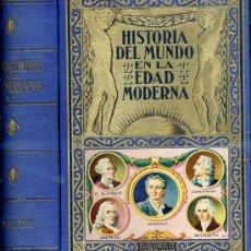 Libros de segunda mano: BIBLIOTECA HISPANIA SOPENA : Hª DEL MUNDO EN LA EDAD MODERNA T. VI EL SIGLO XVIII (1940). Lote 149237790