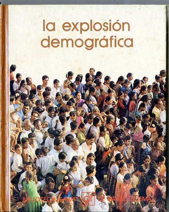 GRANDES TEMAS SALVAT Nº 15 . LA EXPLOSIÓN DEMOGRÁFICA (Libros de Segunda Mano - Ciencias, Manuales y Oficios - Otros)