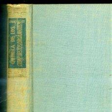 Libros de segunda mano: CONANT - BLATT : QUÍMICA DE LOS COMPUESTOS ORGÁNICOS. Lote 27504894