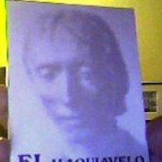 Libros de segunda mano: EL PRÍNCIPE;MAQUIAVELO;ALIANZA EDITORIAL 1985. Lote 25913830