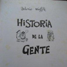 Libros de segunda mano: HISTORIA DE LA GENTE. MINGOTE. 4ª EDICION 1968. TAURUS EDICIONES.. Lote 25921430