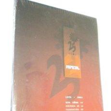 Libros de segunda mano: 25 AÑOS FEMETAL 1976 2001 XXV AÑOS HISTORIA DE LA FEDERACION DE EMPRESARIOS DEL METAL. Lote 26041645