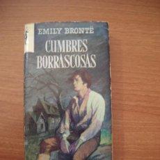 Libros de segunda mano: CUMBRES BORRASCOSAS DE EMILY BRONTË. . Lote 25990211