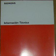 Libros de segunda mano: LIBRO VARISTORES DE OXIDO DE CINC - INFORMACION TECNICA - SIEMENS. Lote 26118964
