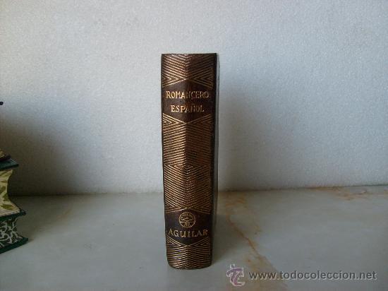 ROMANCERO ESPAÑOL EDITORIAL AGUILAR COLECCION JOYA. (Libros de Segunda Mano - Bellas artes, ocio y coleccionismo - Otros)