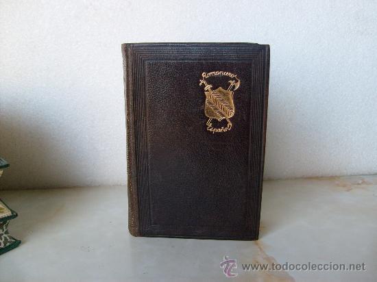 Libros de segunda mano: ROMANCERO ESPAÑOL EDITORIAL AGUILAR COLECCION JOYA. - Foto 2 - 27586371