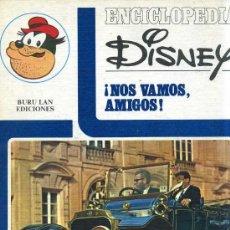 Libros de segunda mano: ENCICLOPEDIA DISNEY ¡NOS VAMOS, AMIGOS! EL TRANSPORTE (1972) EDITORIAL BURU LAN. Lote 26242103