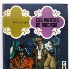Libros de segunda mano: LOS PIRATAS DE MALASIA - COLECCION SANDOKAN - EMILIO SALGARI - EDITORIAL EVEREST - 1977. Lote 26344287