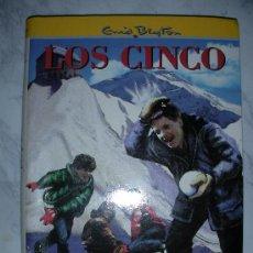 Libros de segunda mano: LOS CINCO EN PELIGRO DE ENID BLYTON. Lote 26371845