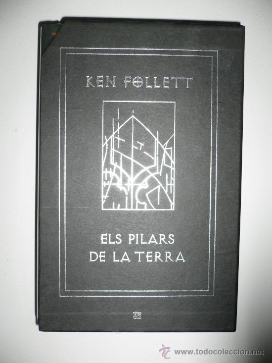 LIBRO DE LECTURA ELS PILARS DE LA TERRA, EN CATALÁN, EDICIÓN DE LUJO KEN FOLLETT (Libros de Segunda Mano (posteriores a 1936) - Literatura - Otros)