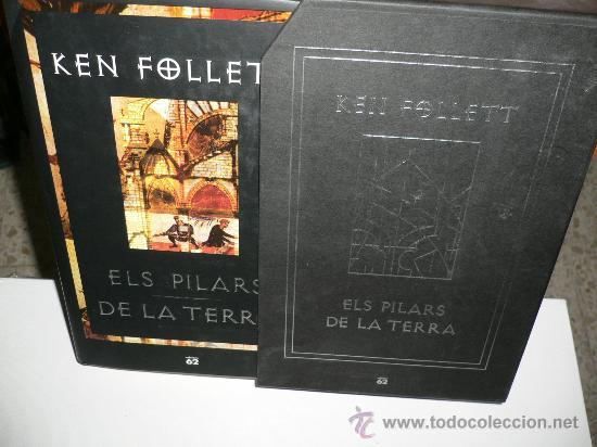 Libros de segunda mano: LIBRO DE LECTURA ELS PILARS DE LA TERRA, EN CATALÁN, EDICIÓN DE LUJO KEN FOLLETT - Foto 2 - 26642979