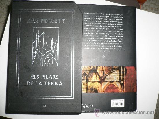 Libros de segunda mano: LIBRO DE LECTURA ELS PILARS DE LA TERRA, EN CATALÁN, EDICIÓN DE LUJO KEN FOLLETT - Foto 3 - 26642979