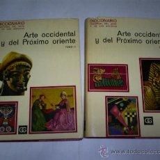 Libros de segunda mano: ARTE OCCIDENTAL Y DEL PRÓXIMO ORIENTE. 2 TOMOS ROBERT MAILLARD (DIR.) RM50812. Lote 27022360