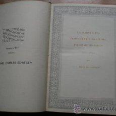 Libros de segunda mano: LA MAQUINISTA TERRESTRE Y MARÍTIMA, PERSONAJE HISTÓRICO (1855-1955) CASTILLO (ALBERTO DEL). Lote 26739356