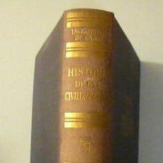 Libros de segunda mano: HISTORIA DE LAS CIVILIZACIONES / RAFAEL BALLESTER. ED. GASSÓ HNOS. 1ª EDICIÓN. ILUSTRADO. . Lote 26780960