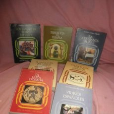 Libros de segunda mano: ARTES DEL TIEMPO Y DEL ESPACIO - EDITORIA NACIONAL - MAGNIFICO LOTE DE 7 VOLUMENES ILUSTRADOS.. Lote 26833808