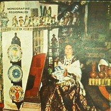 Libros de segunda mano: LIBRO CERAMICA POPULAR EN LA REGION VALENCIANA. Lote 35064346