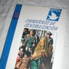 Libros de segunda mano: LIBRO DERECHOS HUMANOS (CUADERNOS DE SENSIBILIZACIÓN). Lote 27032016