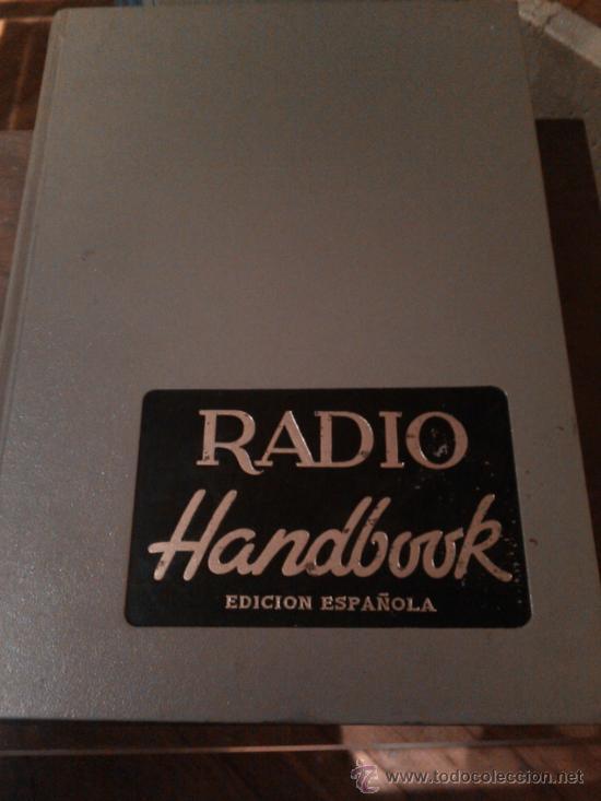 MANUAL DE RADIO HANDBOOK EDICIÓN ESPAÑOLA 1968 (Libros de Segunda Mano - Bellas artes, ocio y coleccionismo - Otros)