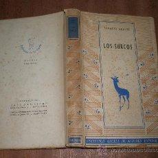 Libros de segunda mano: IGNACIO AGUSTI LOS SURCOS BARCELONA1942 ILUSTRADO POR JOSE MIGUEL SERRANO DEDICATORIA DEL AUTOR. Lote 27025599
