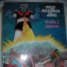 Libros de segunda mano: MAZINGER Z AFRODITA A CAPTURADA. Lote 37050310