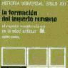 Libros de segunda mano: PIERRE GRIMAL: LA FORMACIÓN DEL IMPERIO ROMANO III. EL MUNDO MEDITERRÁNEO EN LA EDAD ANTIGUA. Lote 27307795