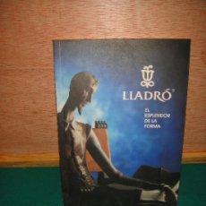 Libros de segunda mano: LLADRO LIBRITO PUBLICITARIO. Lote 27337972