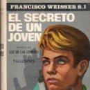 Libros de segunda mano: EL SECRETO DE UN JOVEN POR FRANCISCO WEISSER - ESCELICER, MADRID 1966. Lote 27347715