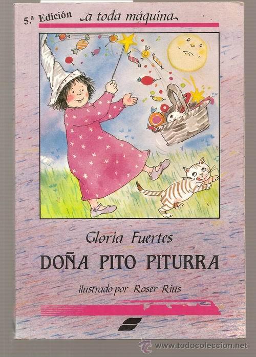 Doña Pitu Piturra Jugando A Leer Gloria Fuer Verkauft Durch