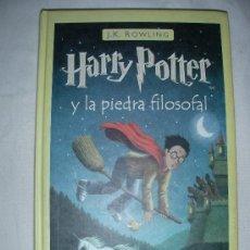 Libros de segunda mano: HARRY POTTER Y LA PIEDRA FILOSOFAL. Lote 27454941