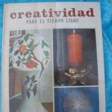 Libros de segunda mano: CREATIVIDAD PARA EL TIEMPO LIBRE. MAS-IVARS ED. CAJA DE AHORROS VALENCIA. 124 PÁG. 1979. Lote 27513491