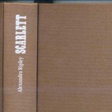 Libros de segunda mano: ALEXANDRA RIPLEY : SCARLETT. Lote 27520542