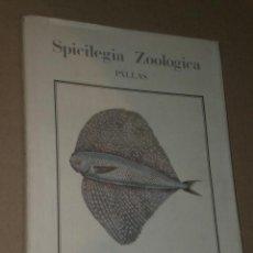 Libros de segunda mano: SPICILEGIA ZOOLOGICA . Lote 27443716