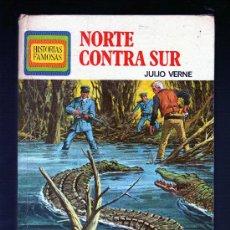 Libros de segunda mano: NORTE CONTRA SUR POR JULIO VERNE - EDITORIAL BRUGUERA, 1ª EDICIÓN: MAYO 1975 (126 PÁGINAS). Lote 27633030