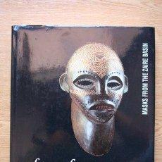 Libros de segunda mano: FACE OF THE SPIRITS. MASKS FROM THE ZAIRE BASIN.. Lote 27644382