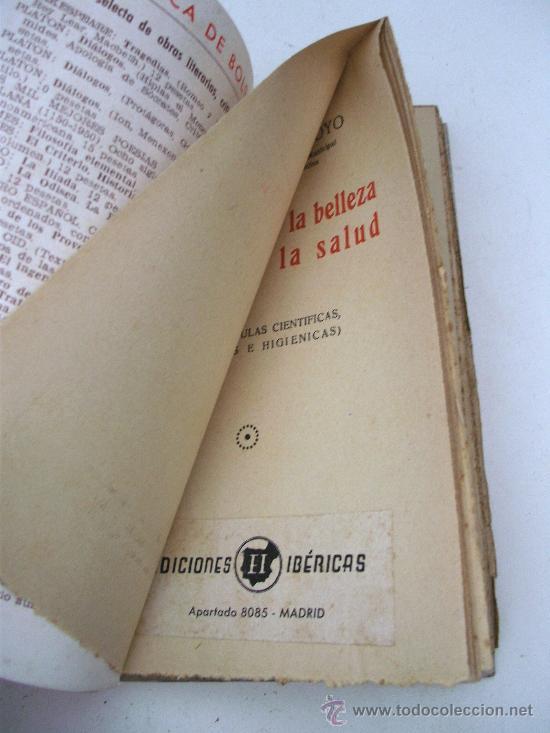 Libros de segunda mano: para conservar la belleza sin perder la salud, 300 formulas cientificas por el dr bausa - Foto 3 - 27671383