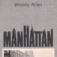 Libros de segunda mano: WOODY ALLEN / MANHATTAN . TUSQUETS EDITOR. 1ª EDICIÓN. ILUSTRADO., * CUADERNOS ÍNFIMOS *. Lote 27680667